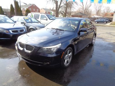 2008 BMW 5-Series 535xi (Monaco Blue Metallic)
