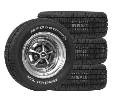 Buy WHEEL/TIRE PACKAGE MAGNUM 500 15X7/8 235 & 215/65 FORD MUSTANG MERCURY COUGAR motorcycle in Lawrenceville, Georgia, US, for US $1,269.64