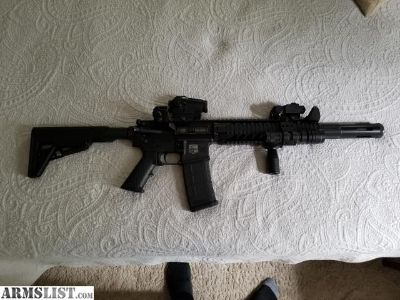 For Sale: Like new AR15 with upgrades
