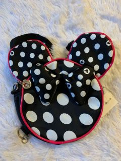 NWT Minnie Backpack black