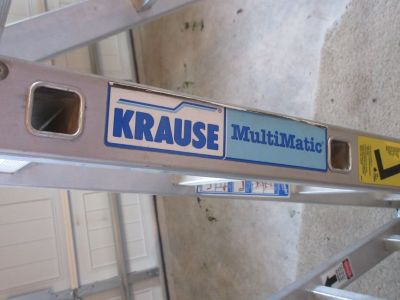 16 FT American Made Krause foldable ladder