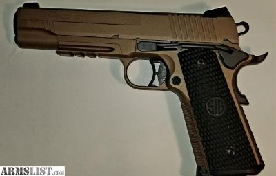 For Sale: Sig Sauer 1911 Emperor Scorpion 45 ACP 5""