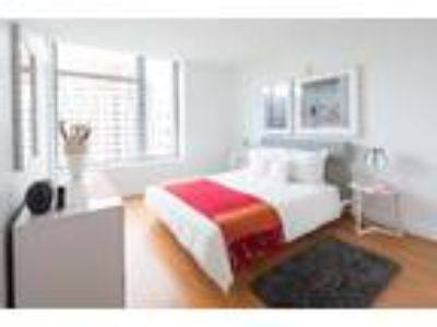 This great Two BR, Two BA sunny apartment is located in the Chinatown area on
