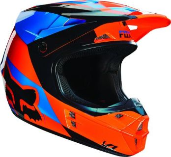 Buy NEW 2016 FOX RACING V1 MOTOCROSS DIRT BIKE HELMET MAKO ORANGE 14406-009 motorcycle in Palm Harbor, Florida, United States, for US $169.95