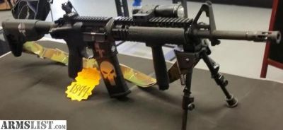 For Sale: Bravo Company Mfg. M4A1 5.56 Nato w/ furniture
