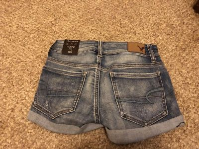 NEW with tags AEO jean shorts