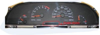 Purchase 1996 96 Impala SS Instrument Cluster Odometer Display Professional Repair motorcycle in Schertz, Texas, United States, for US $44.23