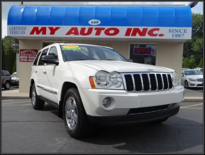 2005 Jeep Grand Cherokee Limited (Stone White)