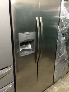 Frigidaire 25cu.ft Side by Side Refrigerator in Stainless Steel-NSD