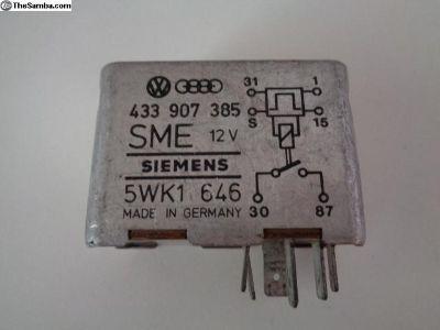Fuel Pump 12V 6 Pin Relay 433 907 385