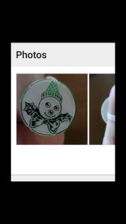 Very rare, Mr. Bingle ring. Were given out at Maison Blanche which closed in 1998. Asking $40.00. Have a red one too