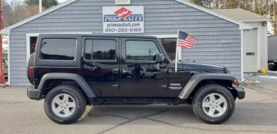 2017 Jeep Wrangler Unlimited Sport 4x4 (Black Clearcoat)