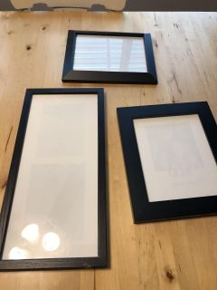 Three frames - great condition