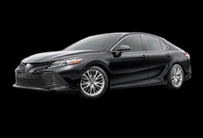 2018 Toyota Camry XLE (Midnight Black Metallic)