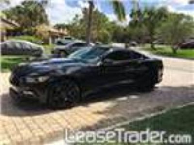 2017 Ford Mustang EcoBoost Premium Fastback Lease