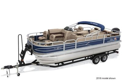 2019 Sun Tracker Fishin' Barge 22 DLX Pontoons Boats Rapid City, SD