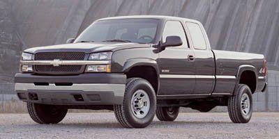 2005 Chevrolet Silverado 3500 Work Truck (Silver Birch Metallic)
