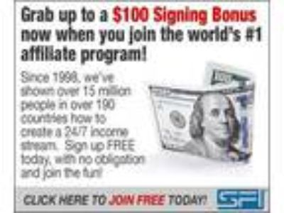 Grab up to a $100 Signing Bonus when you join SFI Today!