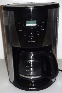 12 Cup Programmable Salton Coffee Maker