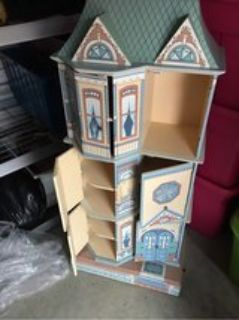 old doll house cubby