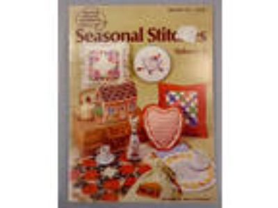 Seasonal Stitches cross stitch pattern book holidays
