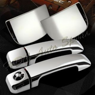 Sell For 2007-2016 Toyota Tundra 2DR/Coupe Chrome Adhesive Door Handle Cover Cap 6Pcs motorcycle in Walnut, California, United States