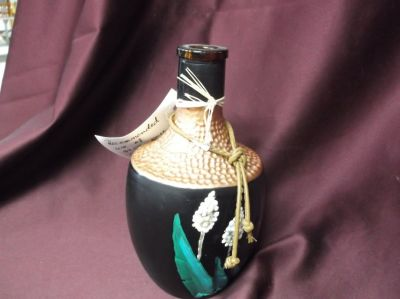 Handpainted Purified Candle Holder
