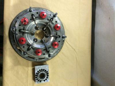 Dual ram 10 inch pro stock clutch