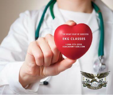 EKG classes at E&S academy ! Register Now !!