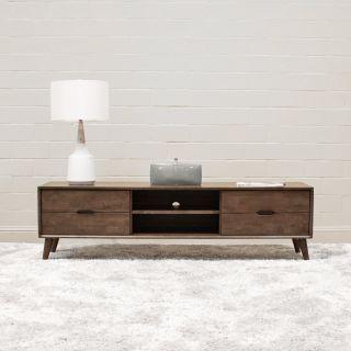 Mid Century Modern Solid Wood Benjamin TV Stand