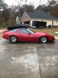 Pro Street C4 Corvette,Big Block,Fuel injected, NOS, pumpgas
