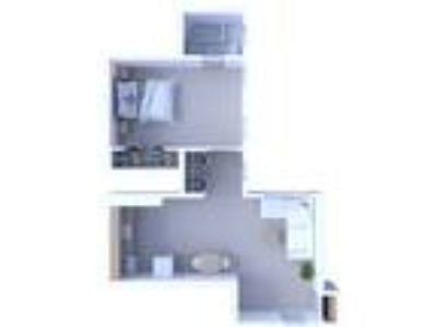 Times Square Apartments - One BR Floor Plan A7