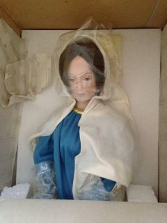 Our Lady of Medjugorje Porcelain Collector Doll