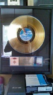 Especially Rare (Jimmy Buffett) RIAA Certified Gold Record Plaque