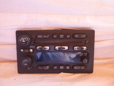 Purchase 03-05 Chevrolet Gmc Cadillac Isuzu Radio 6 Disc Cd Face Plate 10359577 ch63024 motorcycle in Williamson, Georgia, United States