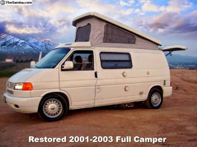 2001-03 VW Eurovan Camper Fully Reconditioned