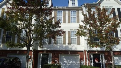 Lithonia Townhome - Just listed!!