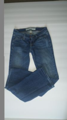 "ABERCROMBIE & FITCH Size 00/29.5 Lenth BOOTCUT ""Madison"" Jeans Womens Stretch"