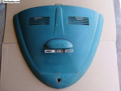 65-66 Convertible Beetle Decklid -Original VW