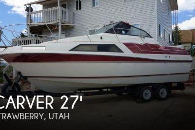 1987 Carver 279 Montego Cruiser