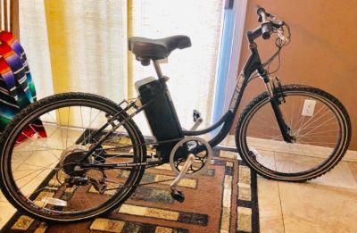 """Electric mountain bike 26"""" women's"""