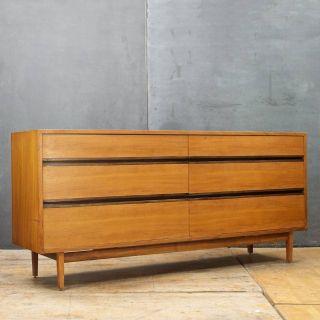 Kipp Stewart Calvin Walnut Dresser Mid-Century