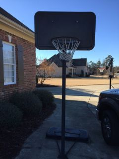 Used Basketball goal