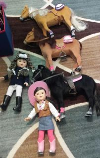 """18"""" my life as dolls and horses"""