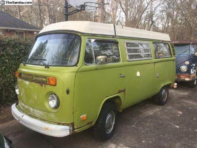 1978 VW Westfalia deluxe camper