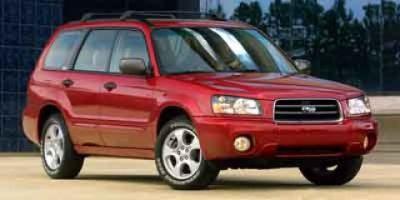 2003 Subaru Forester XS (Silver)
