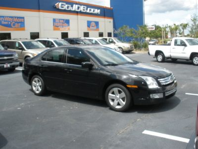 2009 Ford Fusion SEL (BLACK)