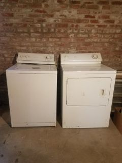 Older Washer and Dryer