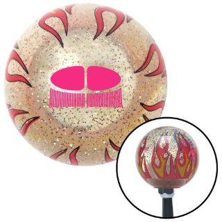 Purchase Pink VW Split Bug Clear Flame Metal Flake Shift Knob dune buggy 427 chopper motorcycle in Portland, Oregon, United States, for US $23.97
