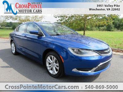 2015 Chrysler 200 Limited (Vivid Blue Pearlcoat)